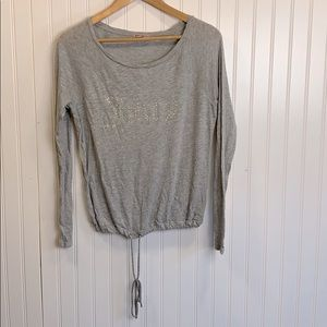 Juicy Couture light weight gray top